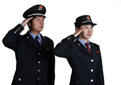 平昌税务制服
